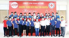 """Vedan Việt Nam tổ chức chương trình hiến máu tình nguyện """"Một giọt máu - triệu tấm lòng"""""""