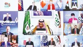Các nhà lãnh đạo tham dự Hội nghị thượng đỉnh Nhóm các nền kinh tế phát triển và mới nổi hàng đầu thế giới (G20)