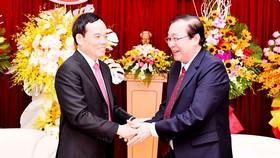 Điện mừng 45 năm Quốc khánh Lào