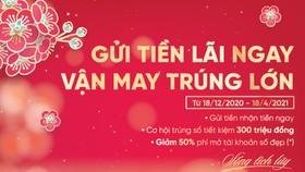 Đón Xuân Tân Sửu nhận muôn vàn điều may cùng VietinBank
