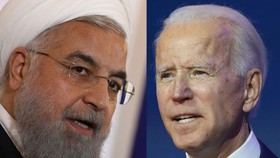 Tổng thống Iran Rouhani và Tổng thống Mỹ Biden. Ảnh: Jewish Journal