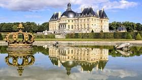Lâu đài Vaux le Vicomte vắng bóng khách tham quan