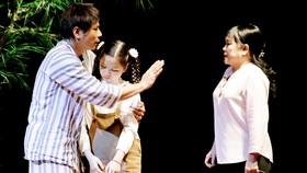 Một cảnh trong vở kịch Bạch Hải Đường