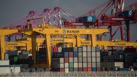 Toàn cảnh cảng container Incheon ở Seoul, Hàn Quốc. Ảnh: AFP/TTXVN