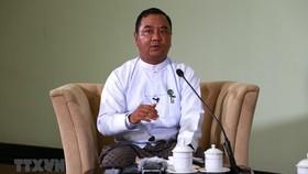 Ông Zaw Min Tun, Người phát ngôn quân đội Myanmar và Hội đồng điều hành nhà nước (SAC). Ảnh: THX/TTXVN