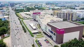 Dọc Quốc lộ 13 đã có nhiều tiện tích cao cấp như: Aeon Mall, Lotte Mart, các bệnh viện quốc tế