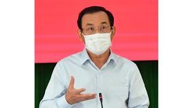 Làm việc với lãnh đạo quận 12 và huyện Hóc Môn, Bí thư Thành ủy TPHCM Nguyễn Văn Nên: Đoàn kết để ổn định và phát triển