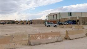 Căn cứ không quân Ain Al-Asad, nơi binh sĩ Mỹ đồn trú ở tỉnh Anbar, Iraq. Ảnh tư liệu: AFP/TTXVN