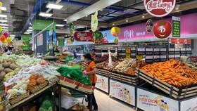 Hàng hóa tại các siêu thị đã được cung ứng dồi dào trở lại