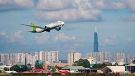Bamboo Airways bay đúng giờ nhất 3 tháng (tính đến 18-3) với tỷ lệ 96,7%