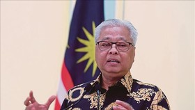 Ông Ismail Sabri Yaakob được Quốc vương Malaysia Al-Sultan Abdullah chỉ định làm Thủ tướng mới, ngày 20-8-2021. Ảnh: NST/TTXVN