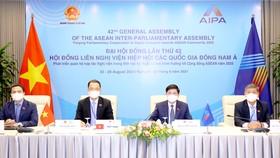 Đoàn đại biểu Quốc hội Việt Nam dự Phiên họp Ủy ban Xã hội. Ảnh: TTXVN