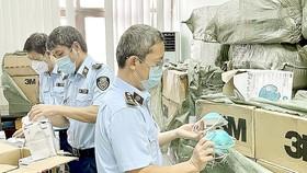 Lực lượng QLTT phát hiện, thu giữ hơn 20.000 khẩu trang y tế giả mạo nhãn hiệu 3M