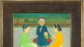 Một tác phẩm của họa sĩ Mai Trung Thứ