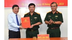 Kiện toàn nhân sự Ban Chấp hành, Ban Thường vụ Đảng ủy Quân sự TPHCM