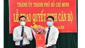 Đồng chí Trần Hoàng Quân giữ chức vụ Bí thư Huyện ủy Bình Chánh