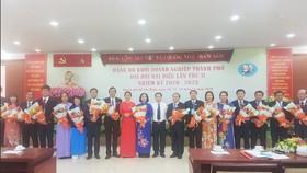 Ban Chấp hành Đảng bộ Khối Doanh nghiệp TPHCM nhiệm kỳ 2020-2025 ra mắt đại hội
