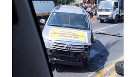 Đoàn cứu trợ của Giáo hội Phật giáo Việt Nam quận 6 gặp tai nạn giao thông, một người tử vong