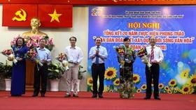 Quận Tân Bình tuyên dương điển hình khu dân cư văn hóa, phường văn minh đô thị