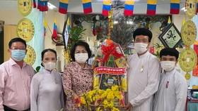 Ủy ban MTTQ Việt Nam TPHCM thăm, chúc mừng Lễ Thượng Ngươn, Tân Sửu