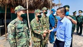 Lãnh đạo TPHCM thăm các lực lượng phòng, chống dịch Covid-19 tại biên giới Tây Ninh