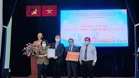 Các cơ quan ngoại giao đoàn tại TPHCM ủng hộ hơn 5 tỷ đồng phòng, chống dịch Covid-19