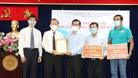 Hội thánh Tin Lành Việt Nam (miền Nam) ủng hộ 1,1 tỷ đồng cho công tác phòng, chống dịch Covid-19 TPHCM