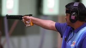 Javad Foroughi giành HCV nội dung 10m súng ngắn hơi nam.