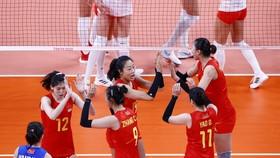 Đội tuyển bóng chuyền nữ Trung Quốc đã có màn chào sân không thành công