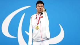 Zheng Tao đã trở thành một trong những tay bơi xuất sắc nhất trong lịch sử Paralympic. Ảnh: GETTY IMAGES