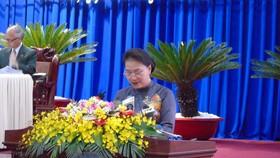 Chủ tịch Quốc hội Nguyễn Thị Kim Ngân phát biểu chỉ đạo kỳ họp