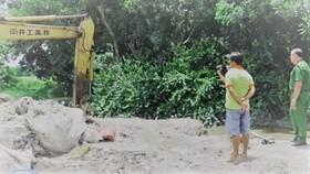 Lực lượng chức năng tỉnh Tây Ninh phát hiện vụ chôn lấp hơn 100 bao rác thải y tế trái phép