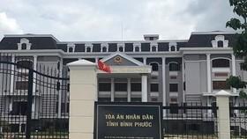 Tòa án nhân dân tỉnh Bình Phước nơi xảy ra vụ tự tử