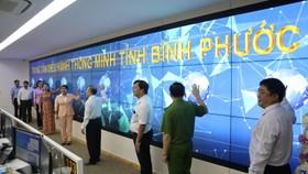 Tỉnh Bình Phước chính thức vận hành Trung tâm Điều hành thông minh (IOC)