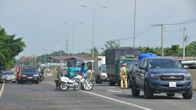 Siết chặt kiểm tra y tế ở Bình Phước.
