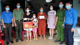Tỉnh đoàn Bình Phước động viên, thăm hỏi gia đình anh Hưng
