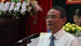 Ông Trương Quang Nghĩa khẳng định với cử tri về quyết tâm phòng chống tham nhũng