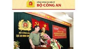 Cảnh báo trang web giả mạo Công an TP Đà Nẵng, Bộ Công an để lấy trộm dữ liệu