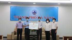 TP Hải Phòng trao 5 tỷ đồng và 200.000 khẩu trang hỗ trợ TP Đà Nẵng chống dịch