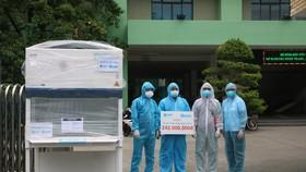 Bệnh viện Đà Nẵng tiếp nhận Tủ an toàn sinh học cấp II