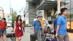 Đoàn cán bộ y tế Nghệ An đến hỗ trợ Đà Nẵng chống dịch Covid-19