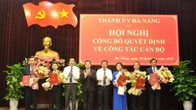 Thành ủy Đà Nẵng công bố quyết định phân công cán bộ