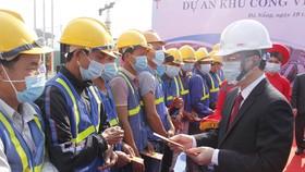 Lãnh đạo Đà Nẵng đi kiểm tra các công trình trọng điểm đầu năm