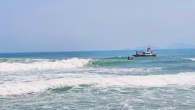 Quảng Nam: Một học sinh lớp 6 mất tích khi tắm biển