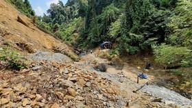 Quảng Nam đánh sập 75 hầm vàng tại Vườn Quốc gia Sông Thanh