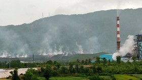Quảng Nam yêu cầu Công ty Than điện Nông Sơn báo cáo hàng tháng việc xử lý sự cố cháy ở bãi thải mỏ than