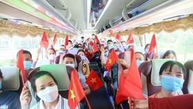 Các y bác sĩ của Quảng Nam đợt này vào hỗ trợ chống dịch tại quận Gò Vấp