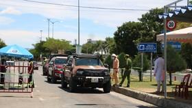 Một chốt kiểm soát dịch Covid-19 của tỉnh Quảng Nam giáp với TP Đà Nẵng