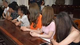 Trong số 30 đối tượng vi phạm, có 2 học sinh đang học tại một trường Trung học cơ sở.