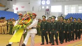 Lễ tang liệt sĩ Trương Văn Thắng